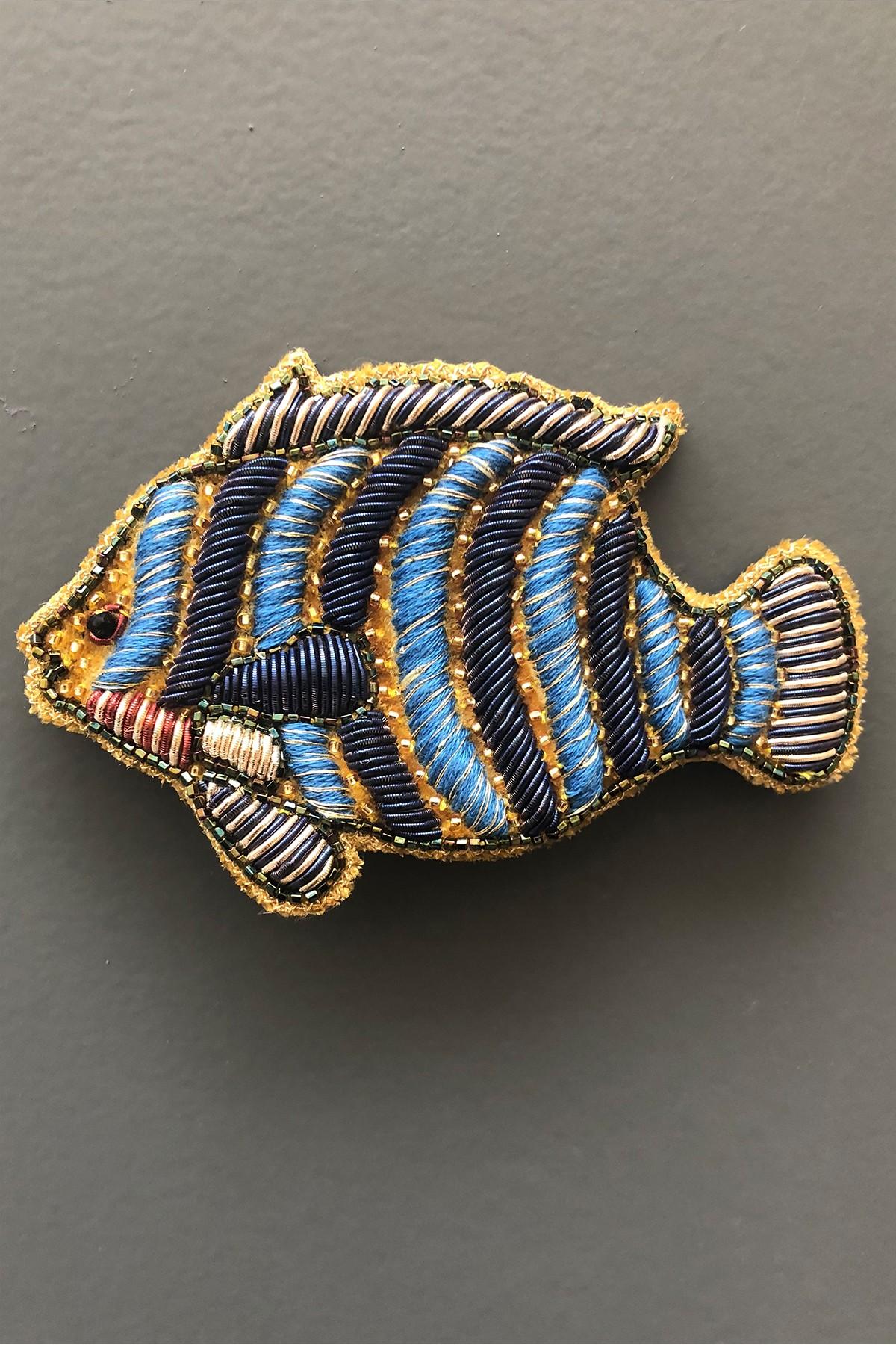 Broche Fish - OCRE