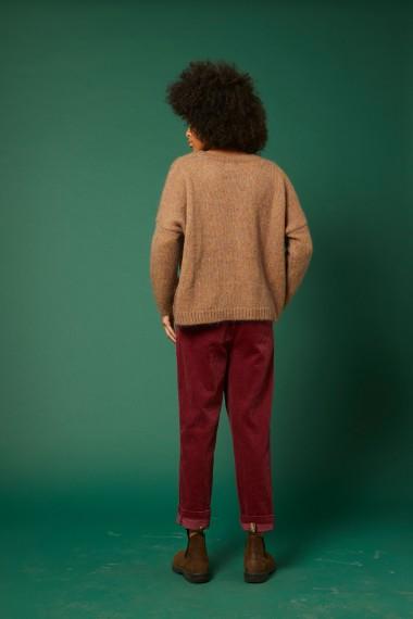 La mannequin mesure 1m73 et porte une taille 1